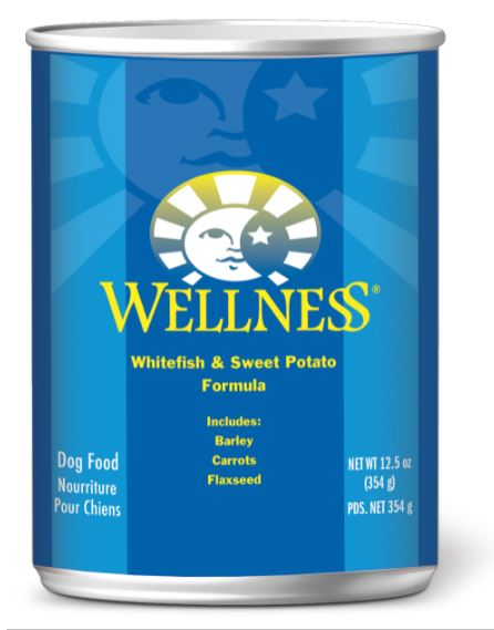 Dog Wet Food: Whitefish & sweet Potato - Complete Health by Wellness