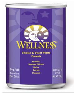 Dog Wet Food: Chicken & sweet Potato - Complete Health by Wellness