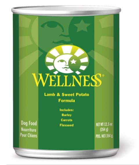 Dog Wet Food: Lamb & sweet Potato - Complete Health by Wellness