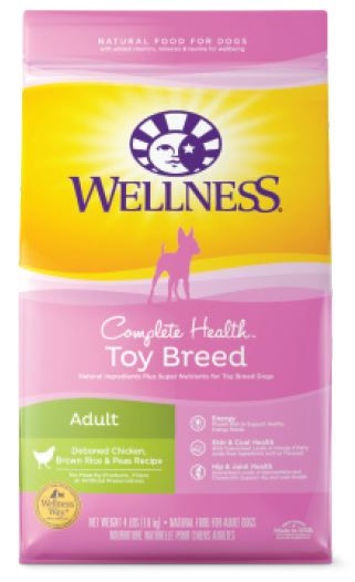 Toy breed( Audlt) whitefish, salmon & peas - complete health series by wellness