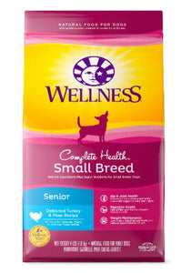 Deboned Turkey & Peas for Senior Small Breed - by wellness