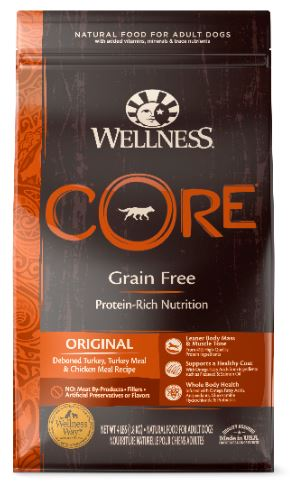 Dog Grain-Free Dry Food: Original - CORE Recipe series by Wellness