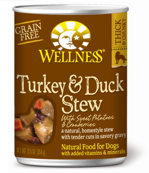 Dog Wet Food : Turkey & Duck Stew ( Grain-Free) - Complete Health by Wellness
