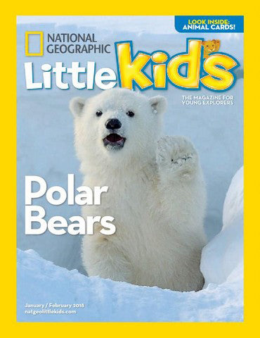 National Geographic Little Kids Magazine - FREE Mini Squishy Toy in a mystery box