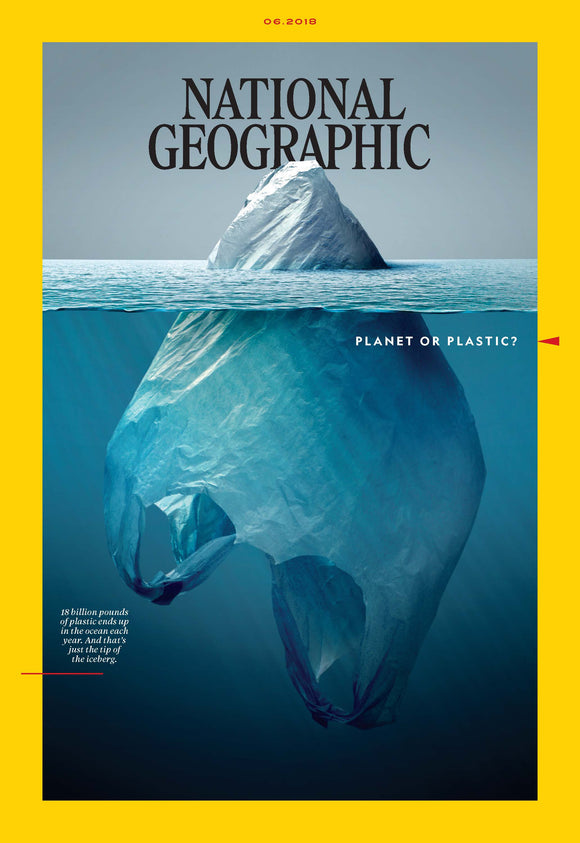 The Award-winning National Geographic Magazine