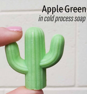 Mica Apple Green - Sud Off! Soaps and Sundries