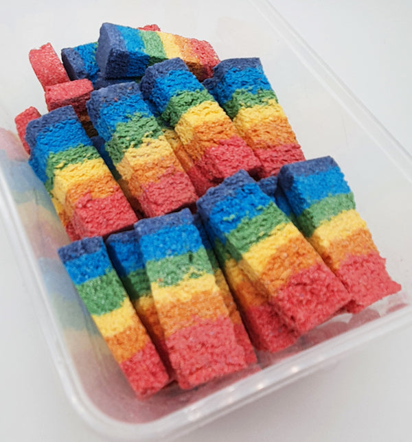 50x Embeds Rainbow Bars