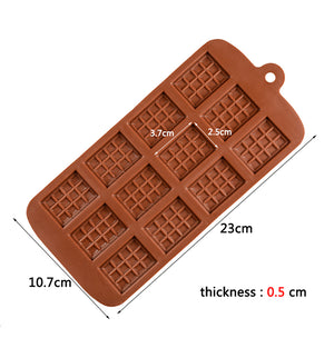 Silicone Mould- Mini Chocolate - Sud Off! Soaps and Sundries