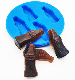 Silicone Mould- Cola Bottles