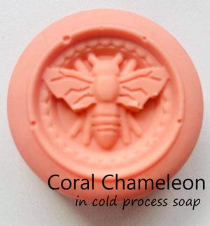 Mica Coral Chameleon - Sud Off! Soaps and Sundries
