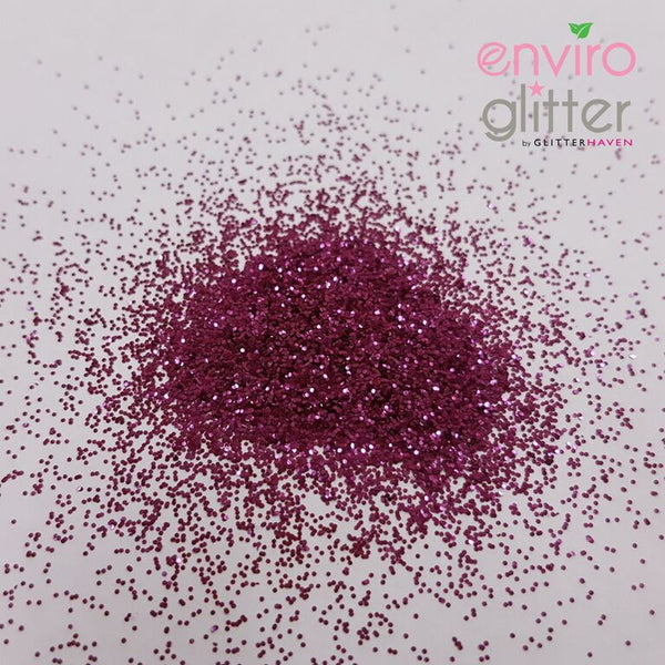 Glitter Haven - Fuchsia Rose 0.2mm Biodegradable Glitter - Sud Off! Soaps and Sundries