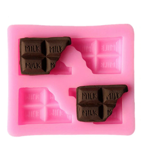 Silicone Mould- Mini Chocolate Bars