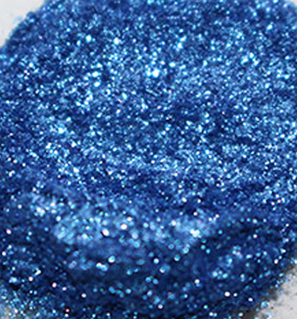 Glitter Mica Ocean Blue (Synthetic Fluorphlogopite) - Sud Off! Soaps and Sundries