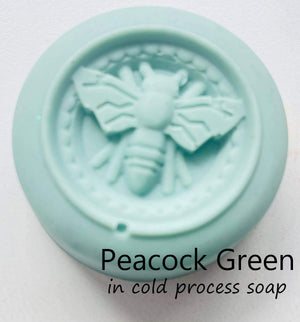 Mica Peacock Green - Sud Off! Soaps and Sundries