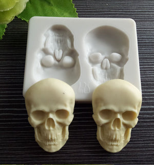 Silicone Mould- Skulls - Sud Off! Soaps and Sundries