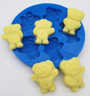 Silicone Mould- Teeny Teddies