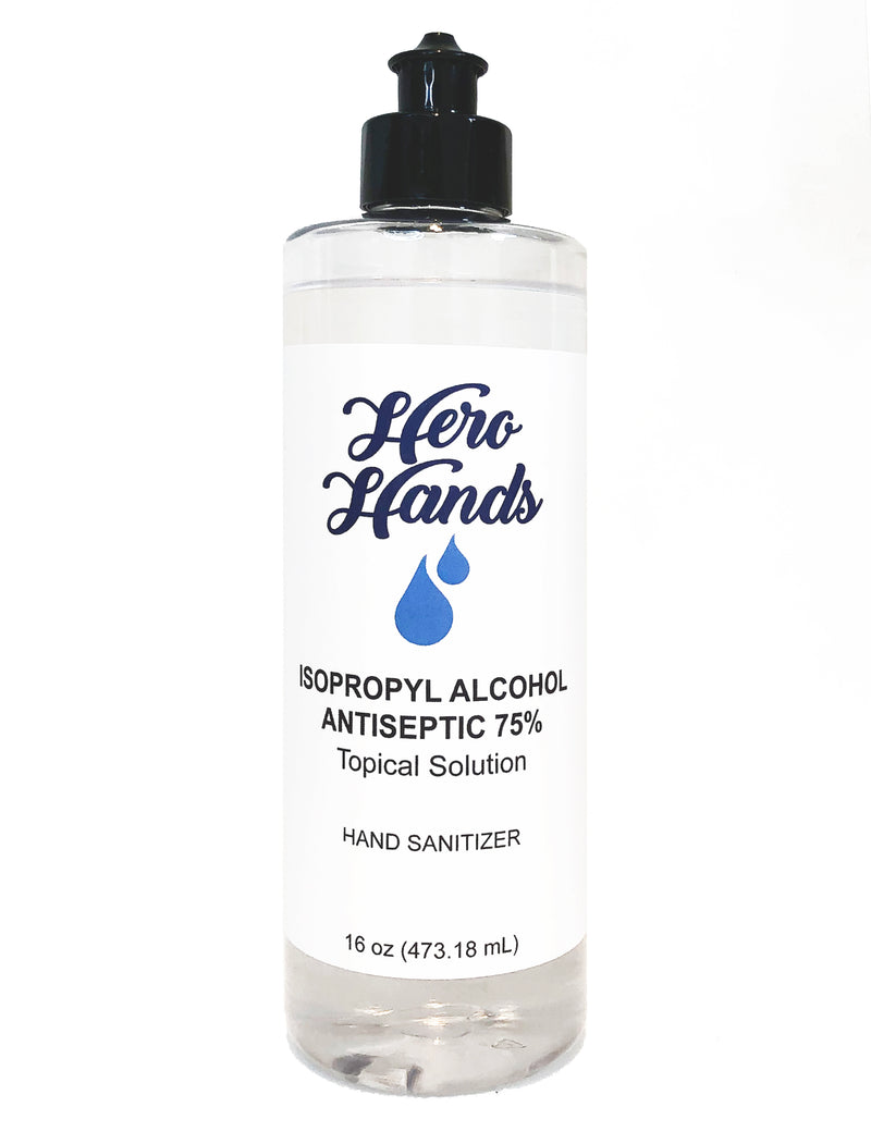 Hero Hands Hand Sanitizer