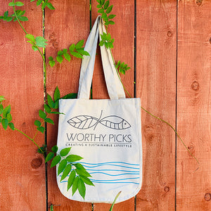 Worthy Picks - Cotton Tote