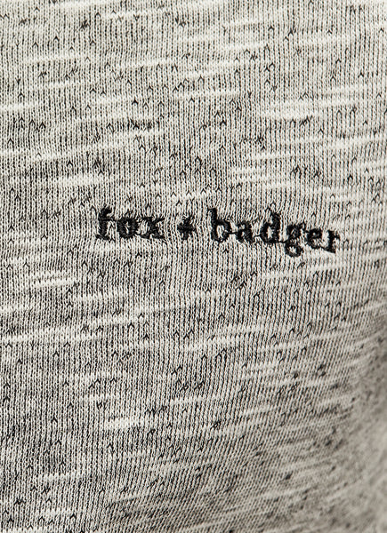 Cotton Crewneck | Fox + Badger