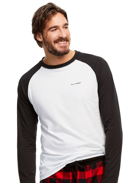 Raglan Long Sleeve T-Shirt | Fox + Badger