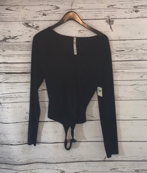 Black Body Suit- Free People