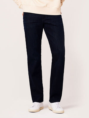DL1961 Avery Modern Straight Breach Jeans