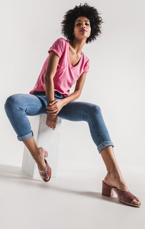 The Pocket Tee - Pink Lemondae