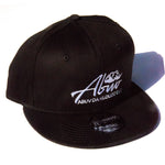 ABUV - Snapback Hat Black/White