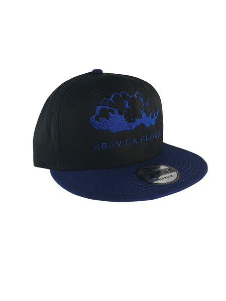 ABUV-Snapback Hat Black & Blue/ Royal Kloud