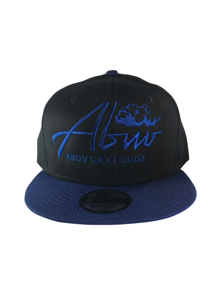 ABUV- Snapback Hat Black &Blue/Royal