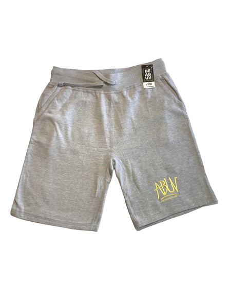 ABUV - Fleece Logo Shorts - Grey