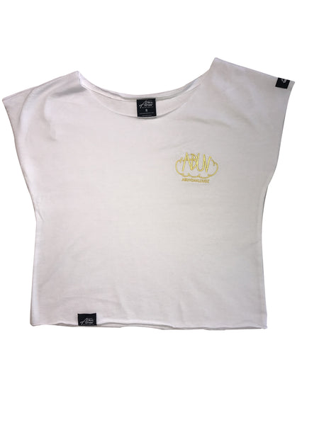 Abuv - Lady's Crop - White