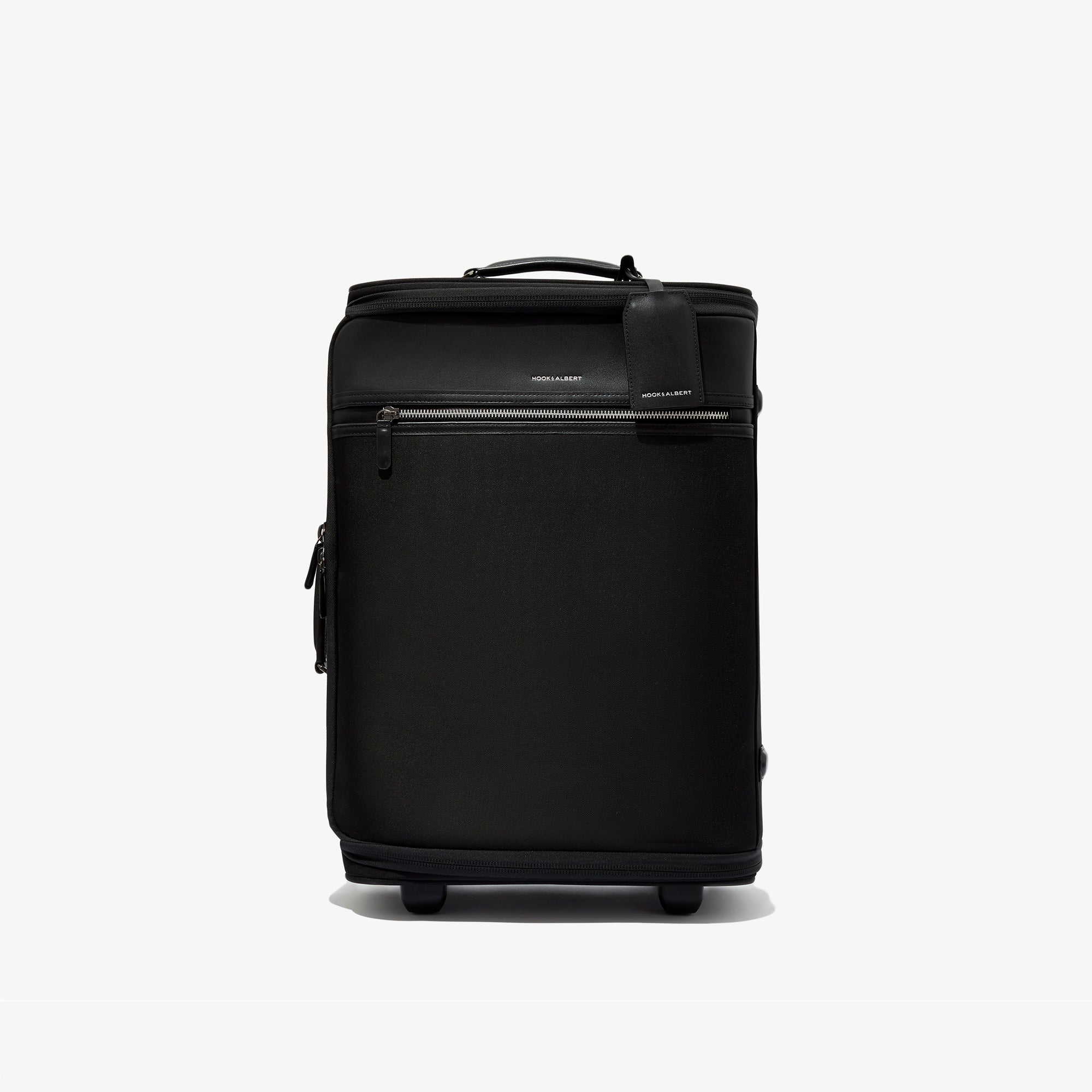 The Black Garment Luggage Carry-On travel product recommended by Nicolette Stern on Lifney.