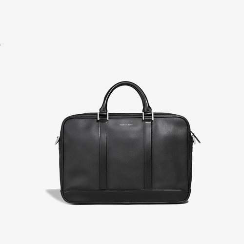 PRE-SALE | SS 2020 | Black Leather Formal Briefcase