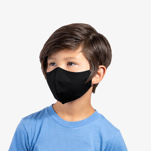 Black 3-Layer Nano-Guard Mask (4 Pack) - SMALL