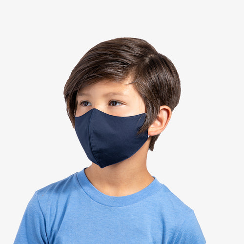 Navy 3-Layer Nano-Guard Mask (4 Pack) - SMALL