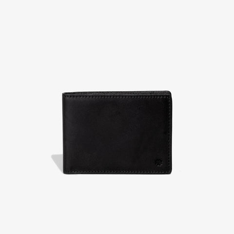 Black Traditional Bifold Wallet