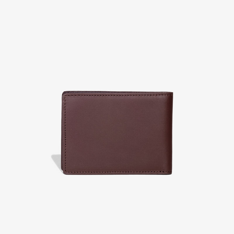 Brown Traditional Bifold Wallet