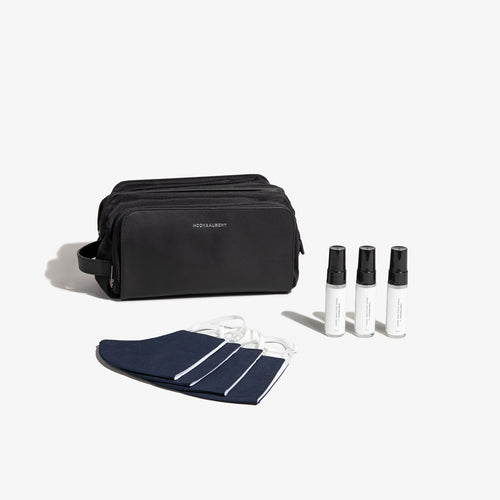 Black Dopp Safe Travel Kit