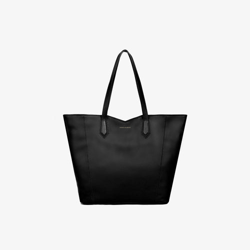 Aliso Tote Bag - Black Leather