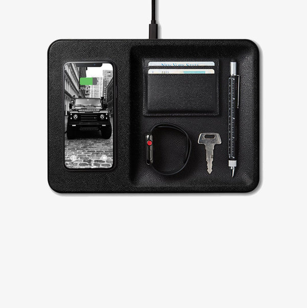 Wireless Charging Valet - Black