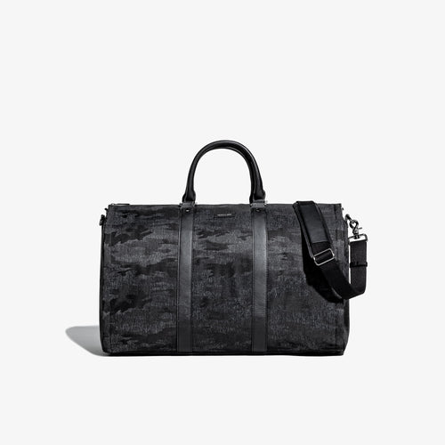 Men's Camo Fabric Garment Weekender Bag
