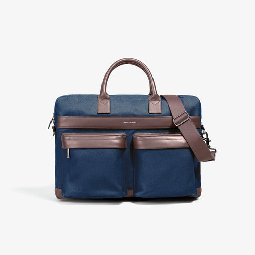 Navy Casual Computer Briefcase