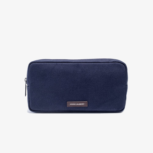 Navy Twill Travel Organizer