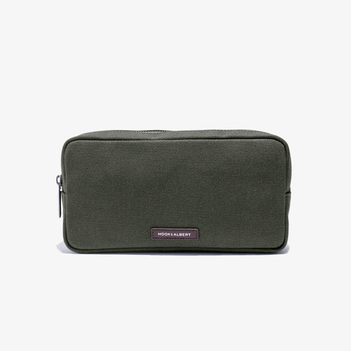Olive Twill Travel Organizer