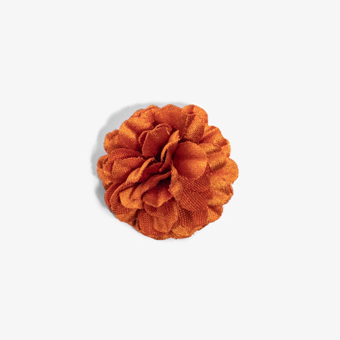 Mini Orange Small Lapel Flower