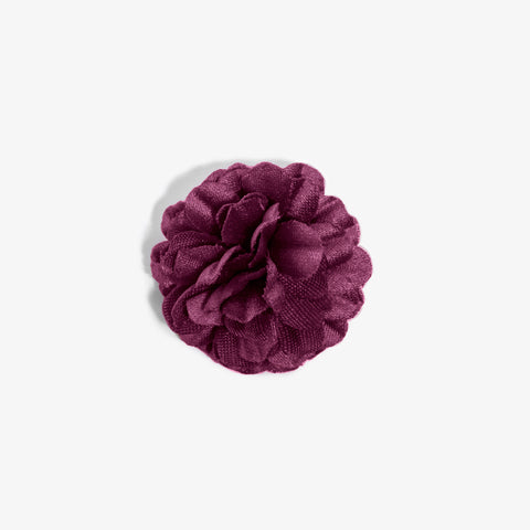 Mini Magenta Small Lapel Flower