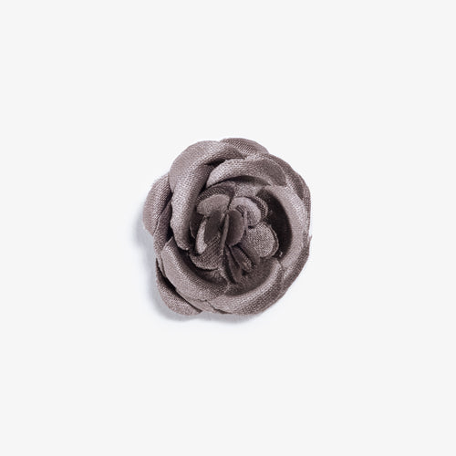 Smokey Small Lapel Flower