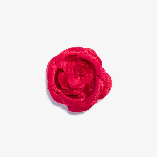 Hot Fire Small Lapel Flower