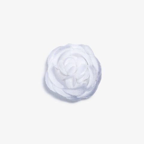 Snow White Small Lapel Flower